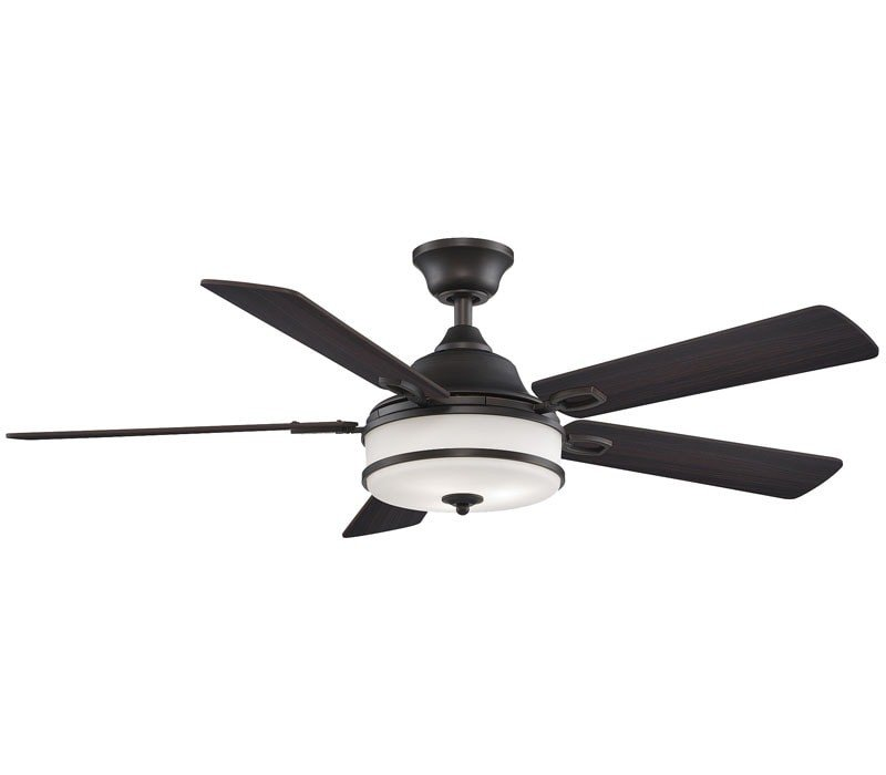 Fanimation Pl8274dz Stafford 52 Inch Dark Bronze Ceiling Fan