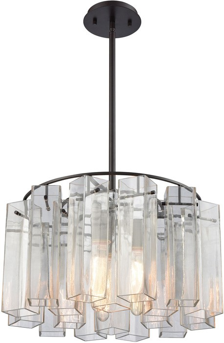 elk lighting cubic glass elk-cubic-glass-pendant-1