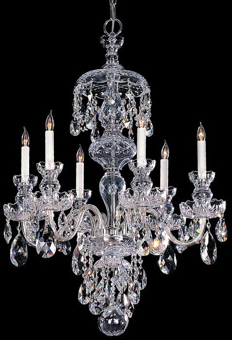 crystorama traditional crystal crysto-traditionalcrystal-chandelier-12