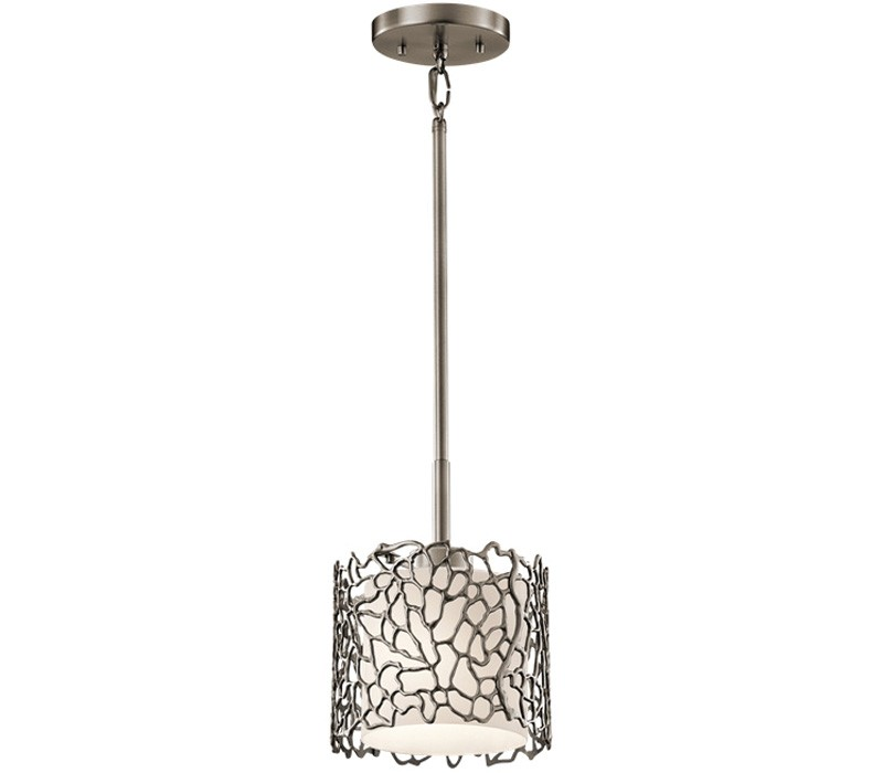 kichler lighting silver coral 43349clp