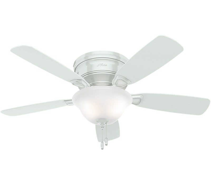 hunter ceiling fans low profile energy star 52062