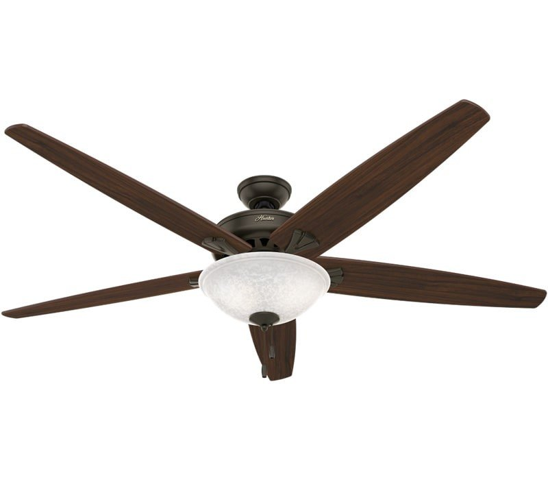 Hunter 55042 Stockbridge 70 Inch New Bronze Ceiling Fan