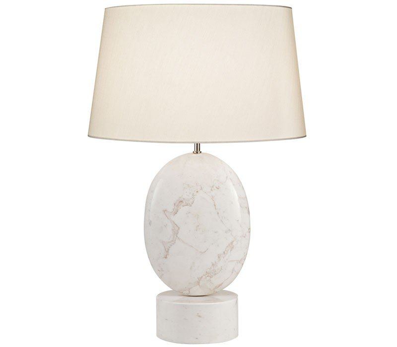 fine art lamps white marble table lamps 826310