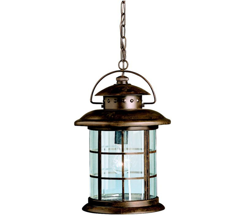 kichler lighting rustic 9870rst