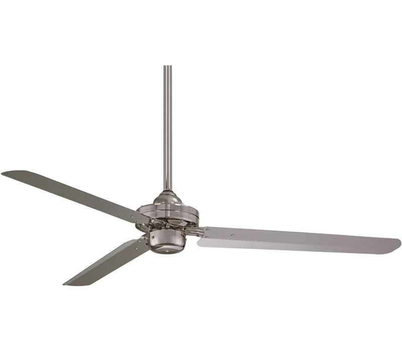 Minka aire f729 bn steal 54 inch brushed nickel ceiling fan minka aire ceiling fans steal minka aire steal 1 aloadofball Images