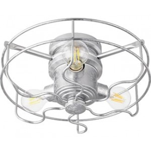 Windmill 3-Light Kit LED, 18 Total Watts, Galvanized