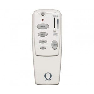 3-Speed, Reversible and Light Dimming Remote with Climate Control