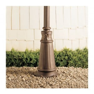 Decorative Outdoor Post (For Concrete Base)