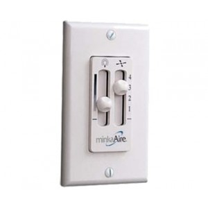 4-Speed Fan & Light Dimming Wall Control