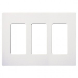 3-Gang Wallplate