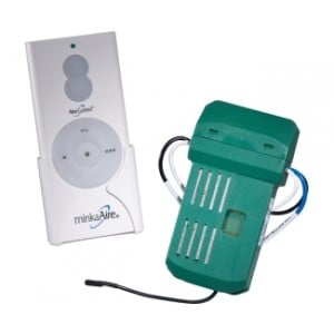 Hand Held 3-Speed Fan & Up/Down Light Dimmer (with Receiver)