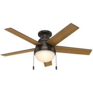 hunter ceiling fans hunter-ansleeflush-1 anslee ceiling fan