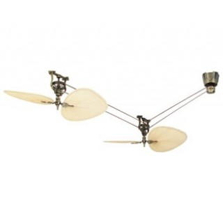fanimation ceiling fans fp1280ab-p1-s2 brewmaster ceiling fan