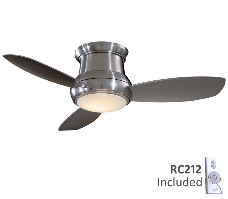 MinkaAire F518BN Concept II 44 Inch Brushed Nickel Ceiling Fan