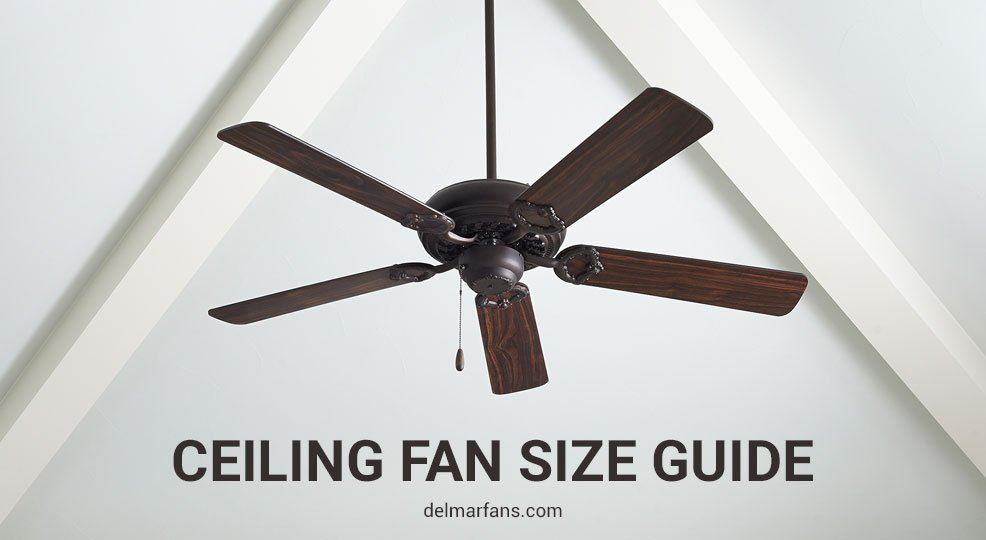 Remarkable What Size Ceiling Fan Do I Need Calculate Fan Size By Room Interior Design Ideas Clesiryabchikinfo