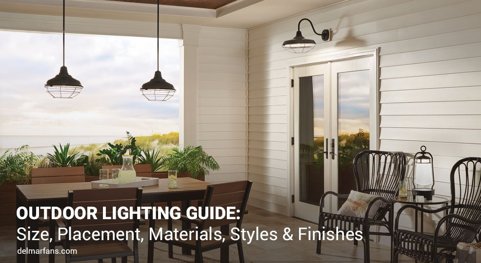 Astounding How To Choose Outdoor Lighting Garage Front Door Placement Size Wiring 101 Archstreekradiomeanderfmnl
