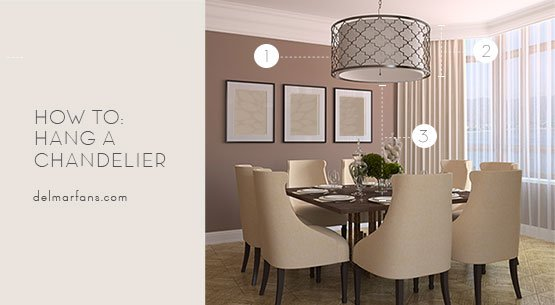 What Size Dining Room Chandelier Do I Need A Sizing Guide from