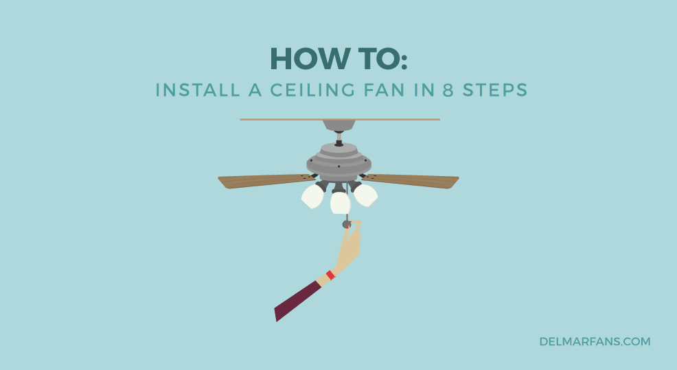 How to Install a Ceiling Fan: A Step-by-Step Installation Guide from ...