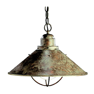 Seaside Cast Aluminum Outdoor Ceiling Lighting by Kichler